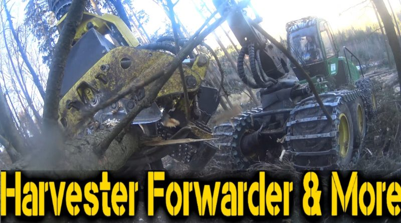 Harvester Forwarder & More Channeltrailer