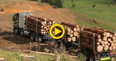 Aztec Logging Truck in New Zealand