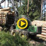 John Deere 1210E | Unloading