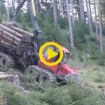 Valmet 860.4 & Winch | Steep Slope