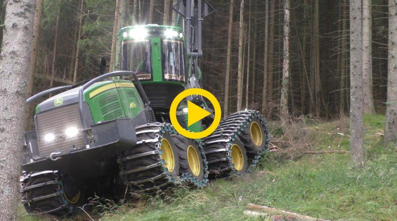 John Deere forestry – Harvester Forwarder & More